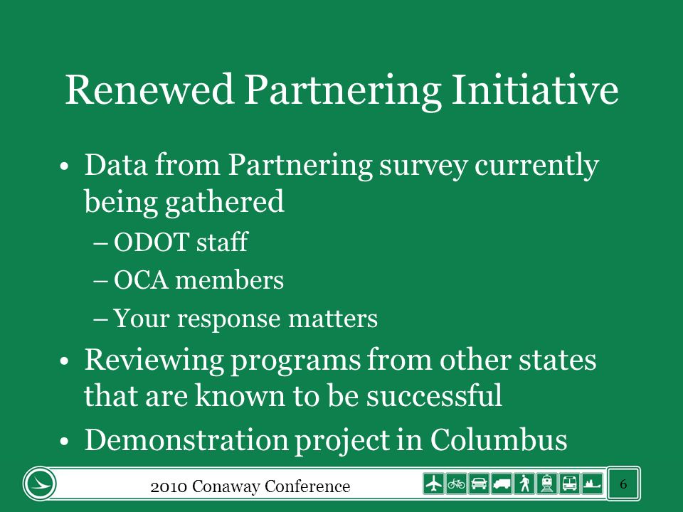 Renewed Partnering Initiative