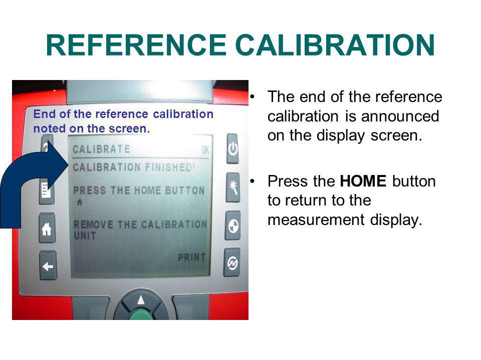 REFERENCE CALIBRATION