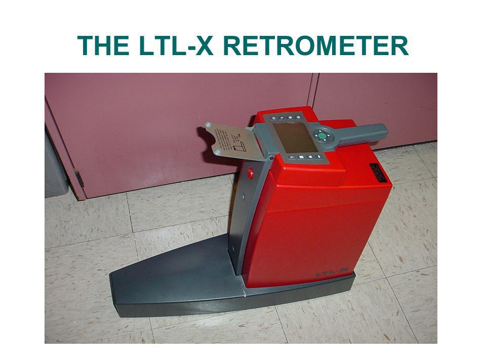 THE LTL-X RETROMETER