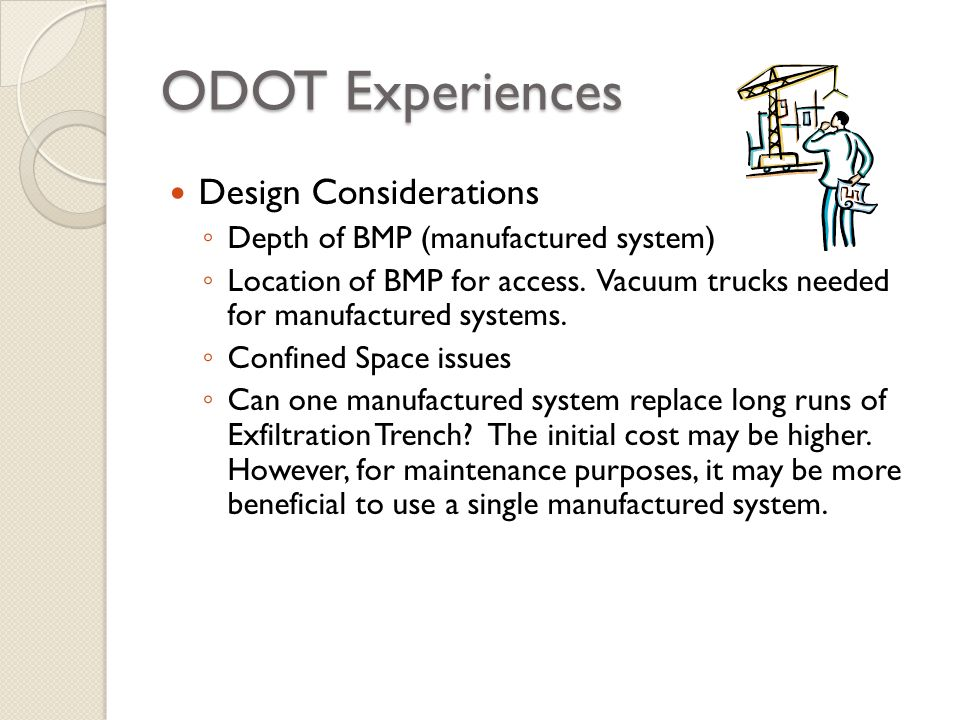ODOT Experiences Design Considerations