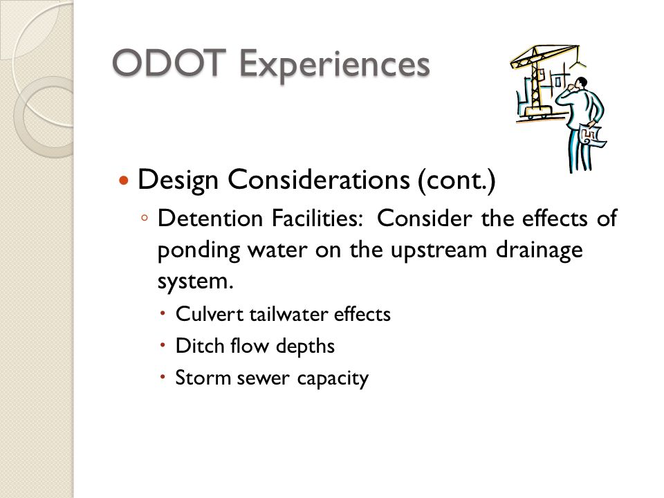 ODOT Experiences Design Considerations (cont.)