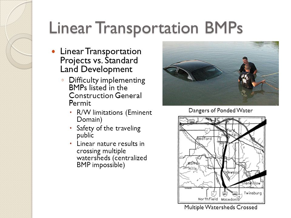 Linear Transportation BMPs