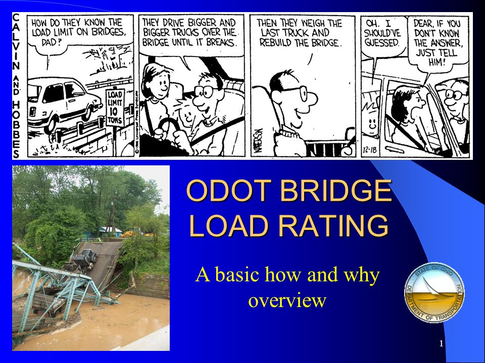 ODOT BRIDGE LOAD RATING