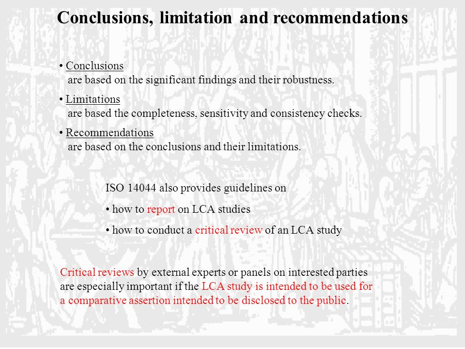 findings conclusions recommendations and scope for 5 the final chapter task 51 do you cycle do you know what 'freewheeling' is if not, see whether anybody else in  e implications of your findings f recommendations for future research and practical applications task 53  chapter seven: conclusions and recommendations 71 conclusions.