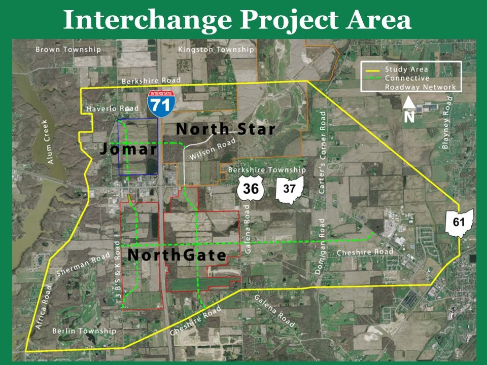 Interchange Project Area