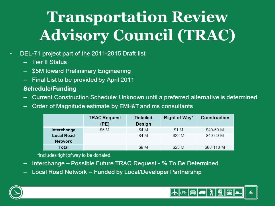 Transportation Review Advisory Council (TRAC)