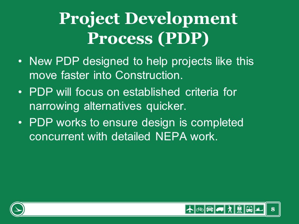 Project Development Process (PDP)