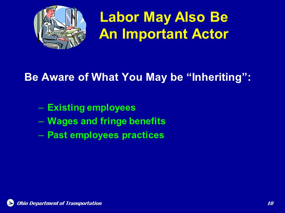 Labor May Also Be An Important Actor