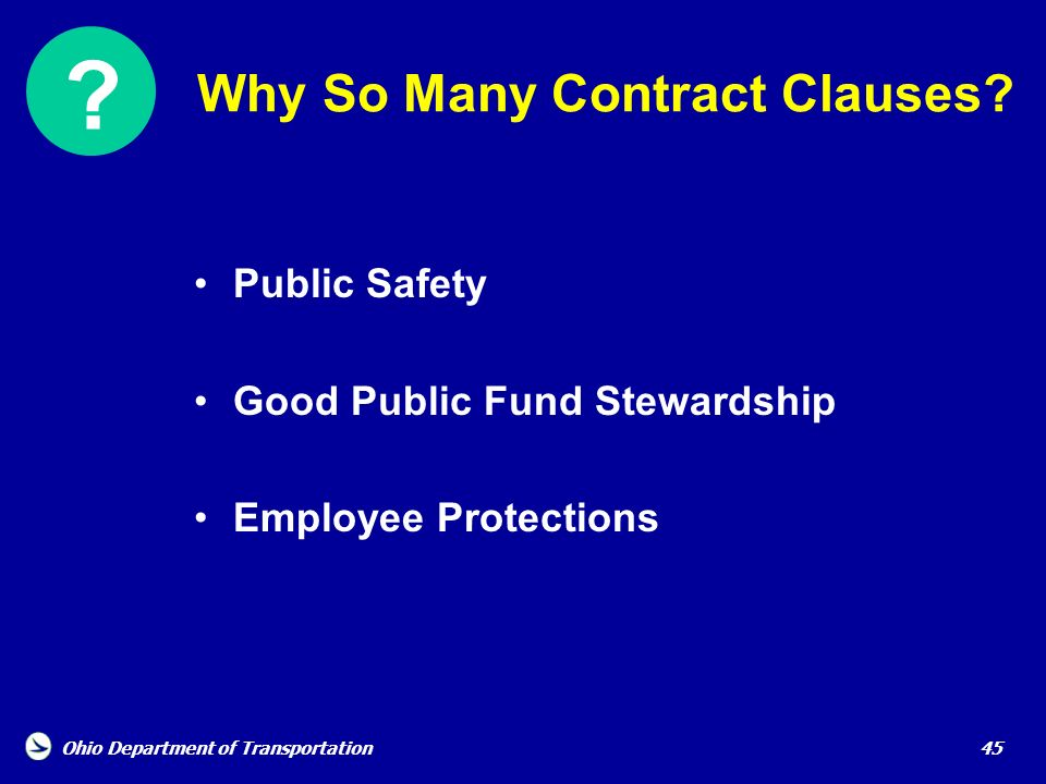Why So Many Contract Clauses