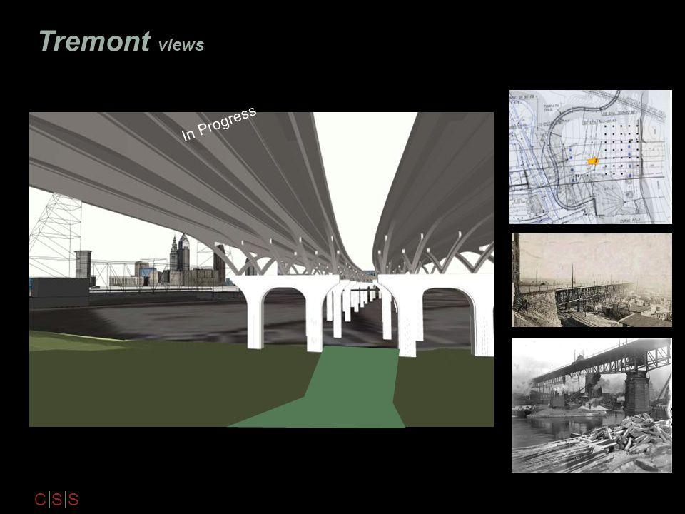 Tremont views In Progress