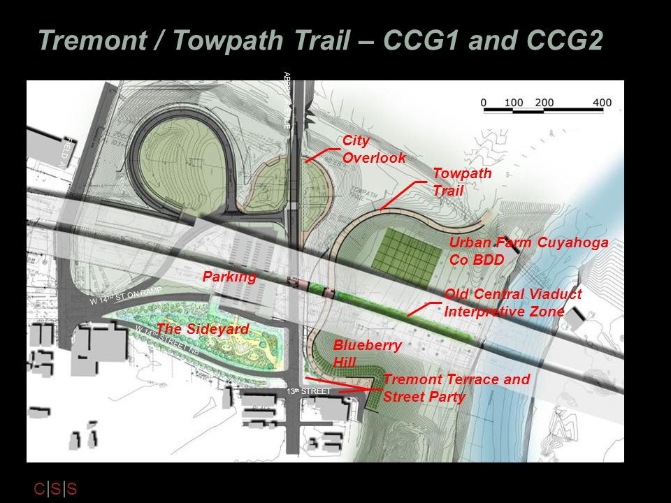 Tremont / Towpath Trail – CCG1 and CCG2