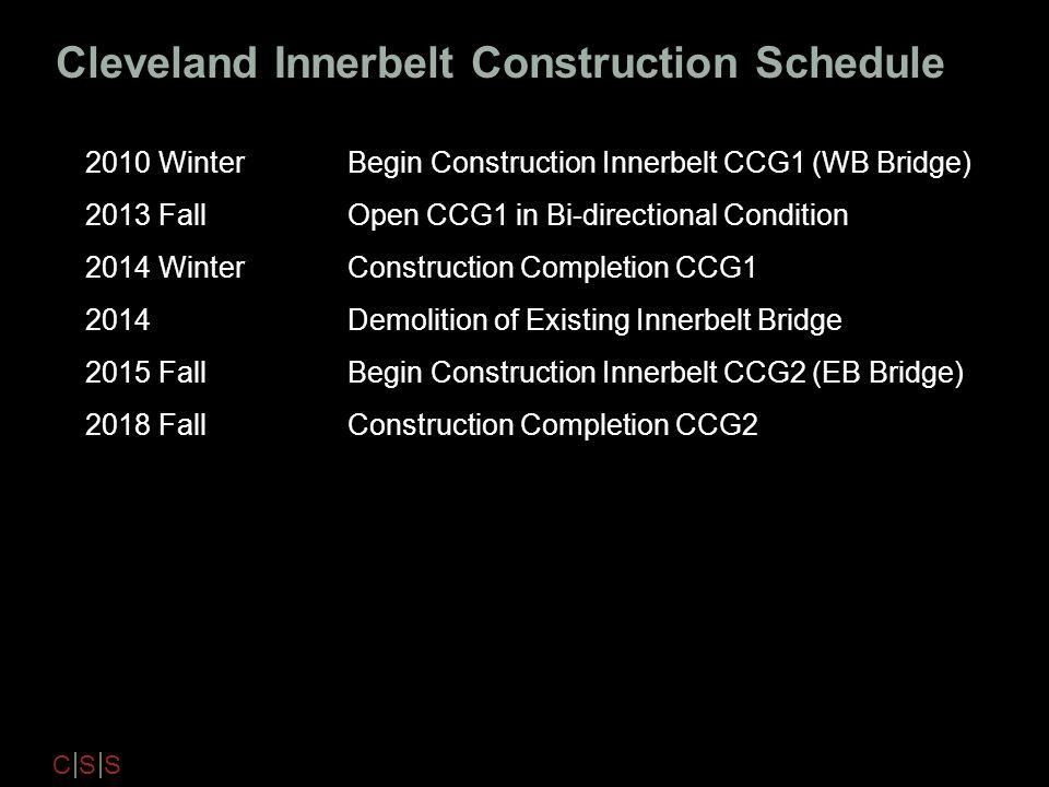 Cleveland Innerbelt Construction Schedule