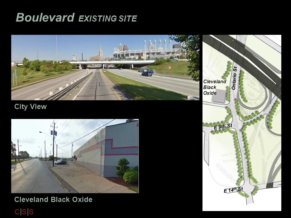 Boulevard EXISTING SITE