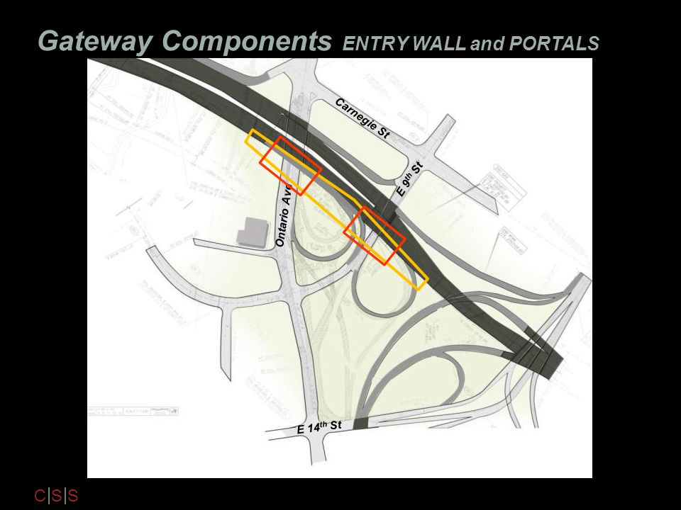 Gateway Components ENTRY WALL and PORTALS
