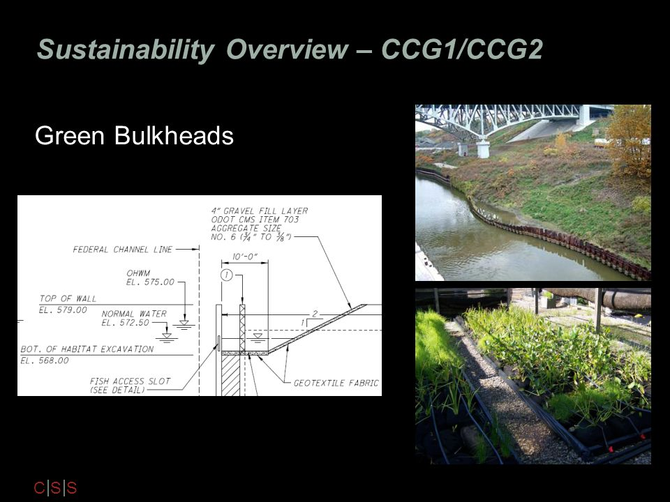 Sustainability Overview – CCG1/CCG2