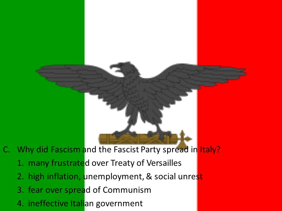 why did fascism rise in europe What was european fascism what conditions of the 1920s and early 1930s  facilitated the rise of fascism in europe  how did fascism differ from  communism.