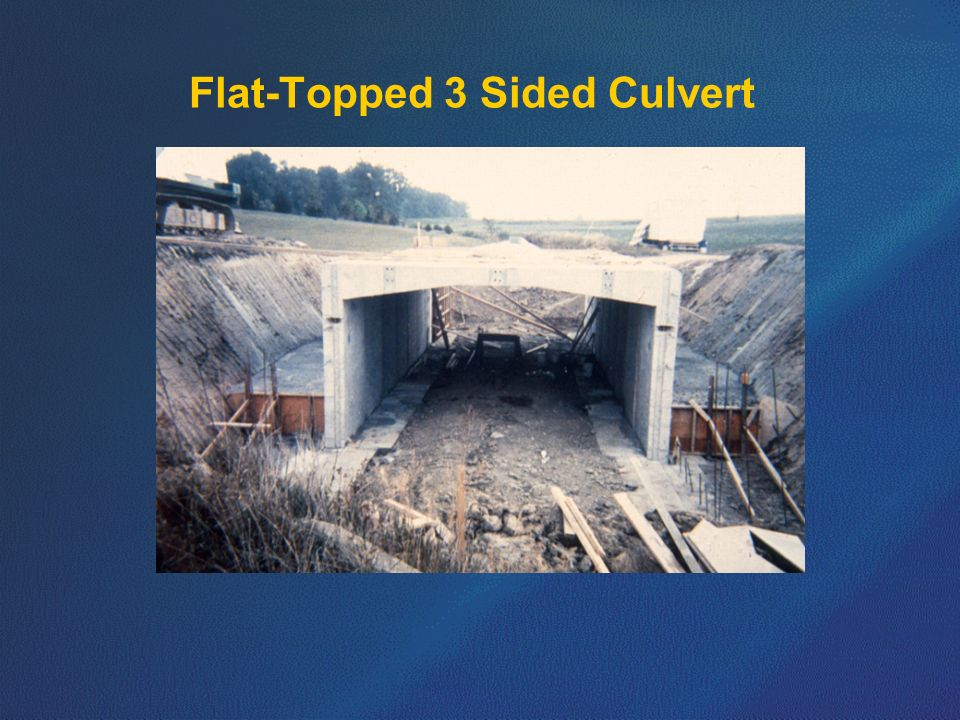 Flat-Topped 3 Sided Culvert