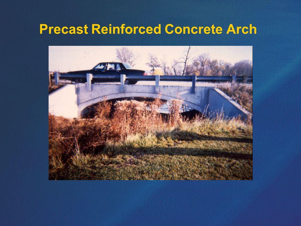 Precast Reinforced Concrete Arch