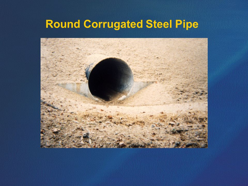Round Corrugated Steel Pipe
