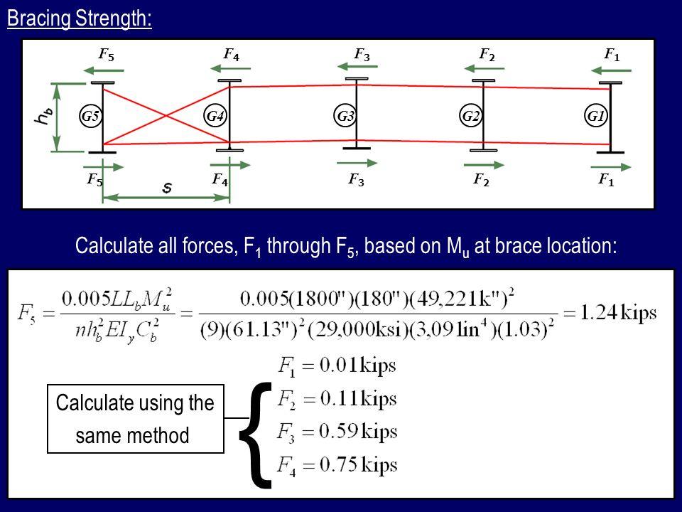 Bracing Strength: F5. F4. F3. F2. F1. G5. G4. G3. G2. G1. F5. F4. F3. F2. F1.