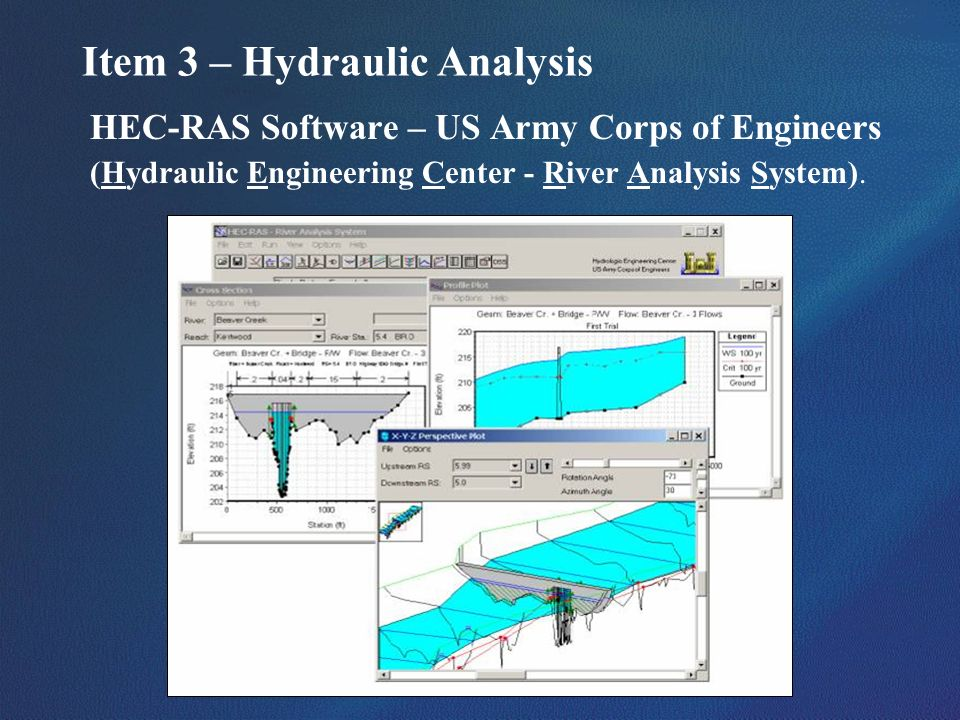 Item 3 – Hydraulic Analysis