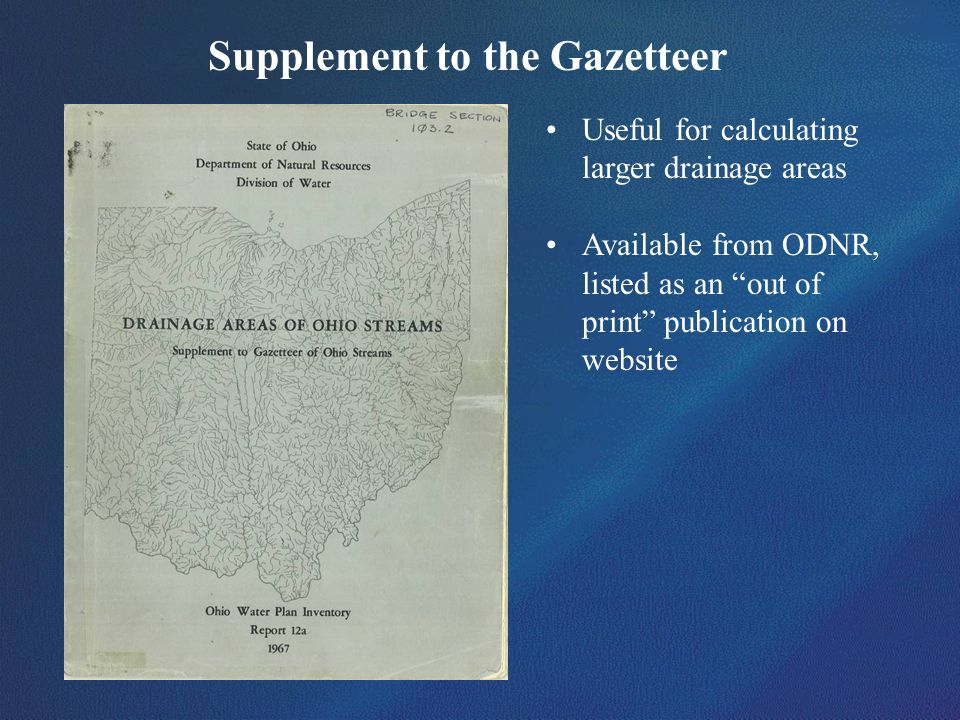 Supplement to the Gazetteer