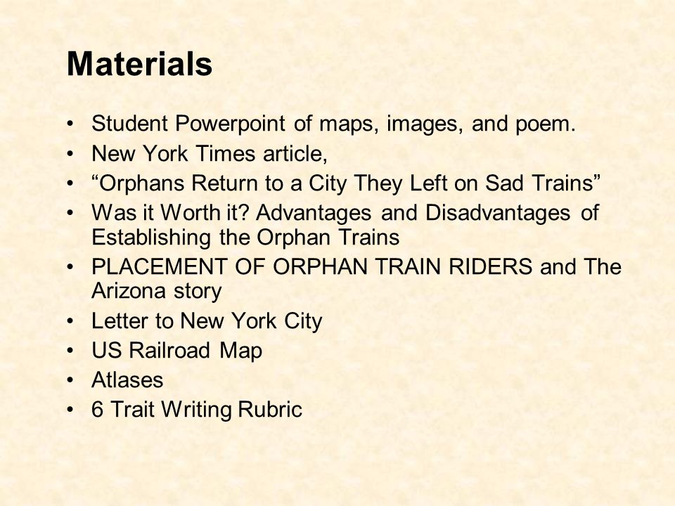 Materials Student Powerpoint Of Maps Images And Poem