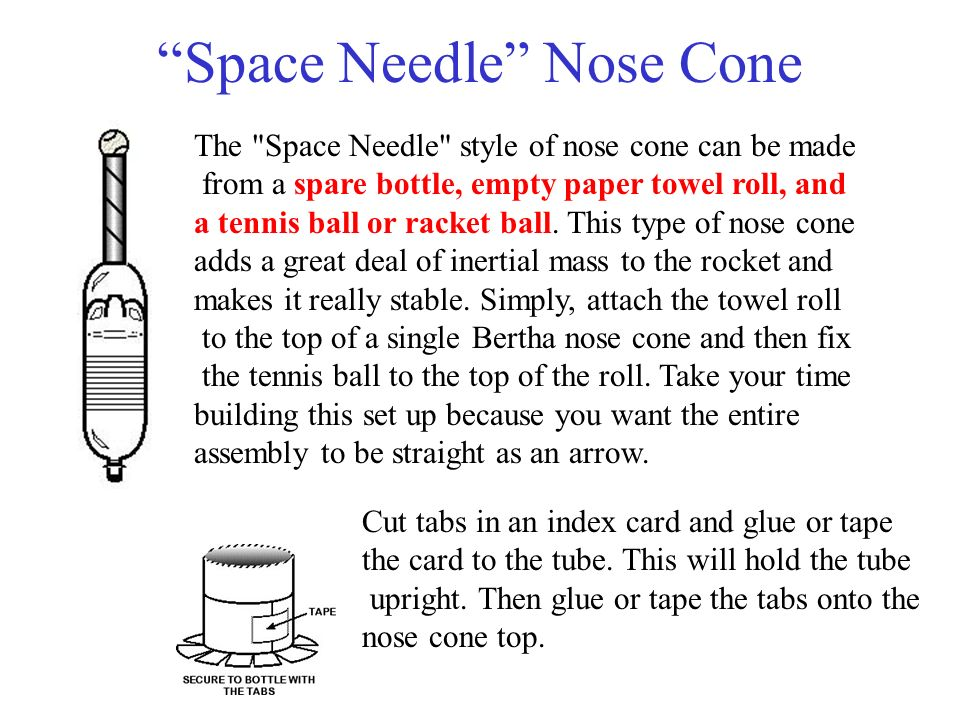 Space Needle Nose Cone