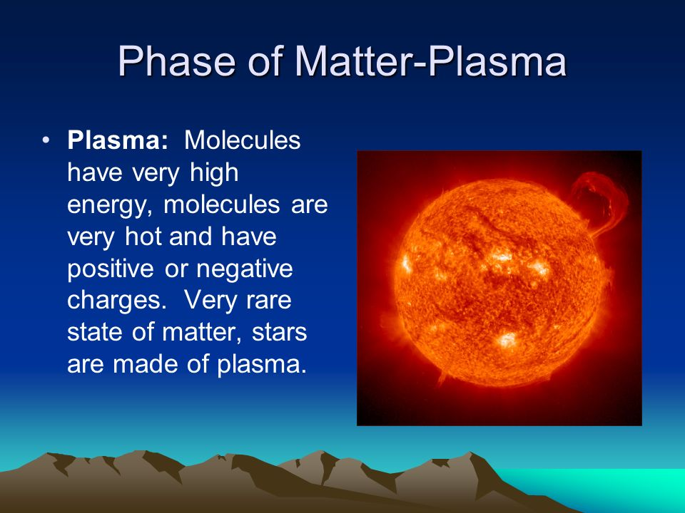 Phase of Matter-Plasma