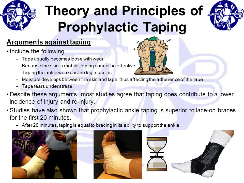 Theory and Principles of Prophylactic Taping