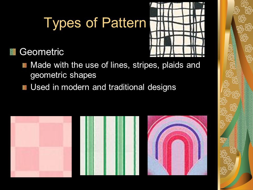 Types of Pattern Geometric
