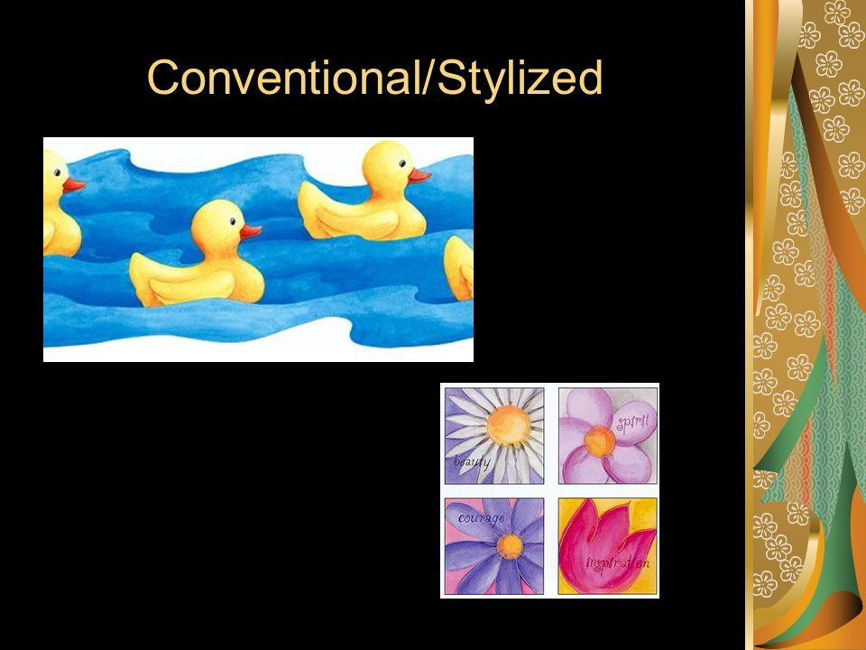 Conventional/Stylized