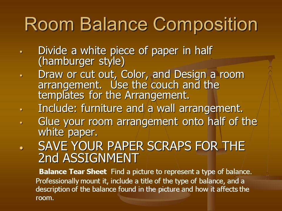 Room Balance Composition