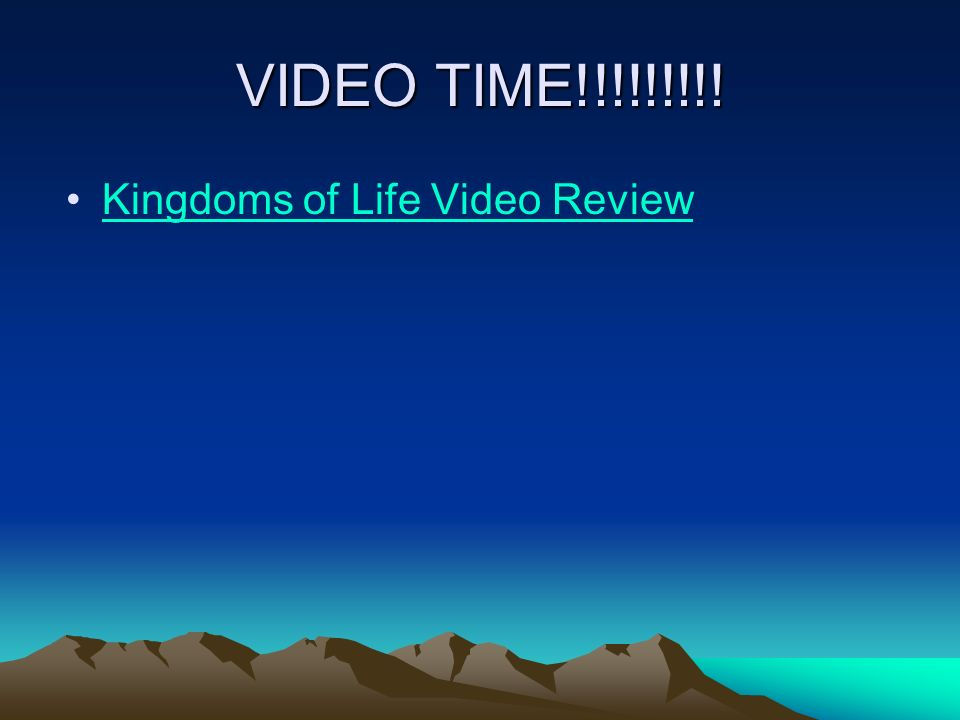 VIDEO TIME!!!!!!!!! Kingdoms of Life Video Review