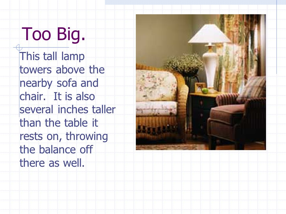 Too Big.