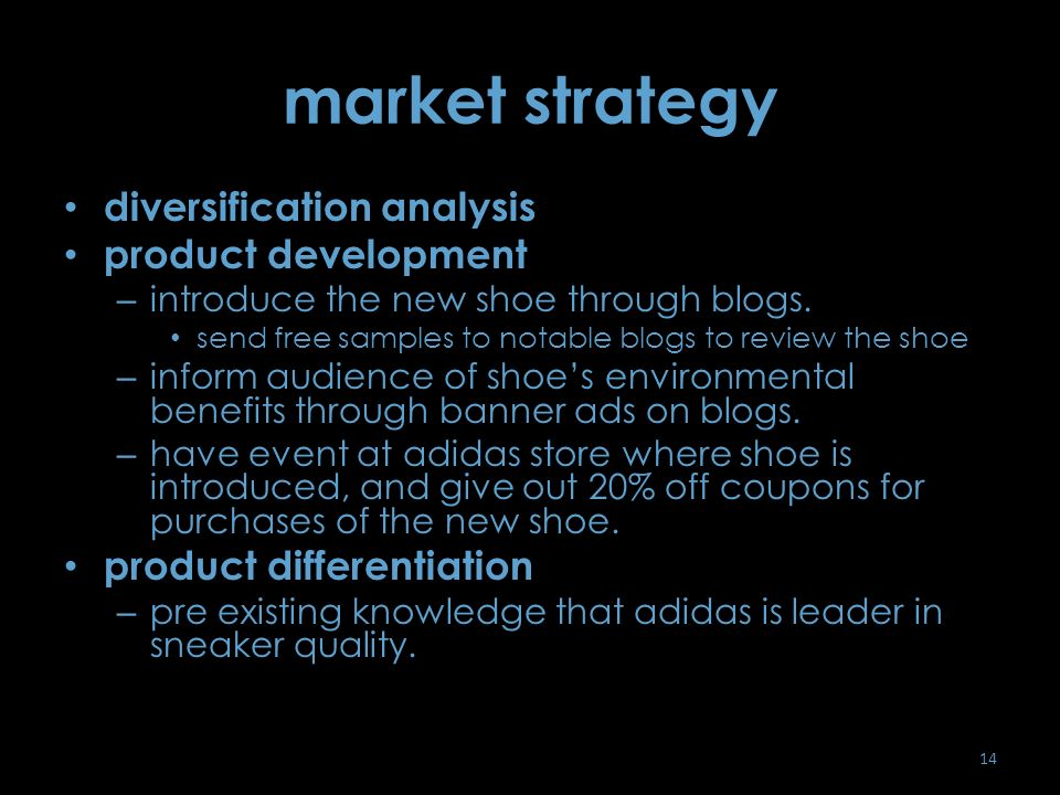 market analysis selection through strategic A strategic analysis of your business should focus on your goals and strategies, rather than a simple review of your operational practices analyzing your debt, cash flow, sales levels and balance sheet gives you an evaluation of where your business stands, but it doesn't address strategic issues.