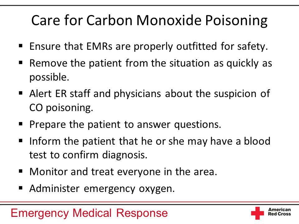 Care for Carbon Monoxide Poisoning