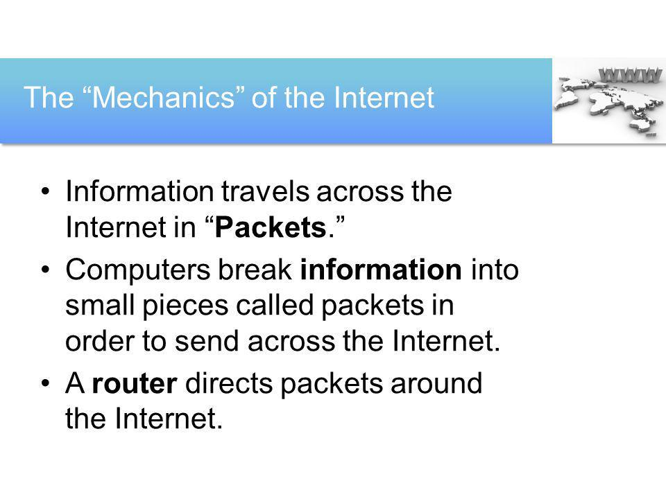 The Mechanics of the Internet
