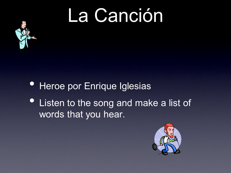La Canción Heroe por Enrique Iglesias