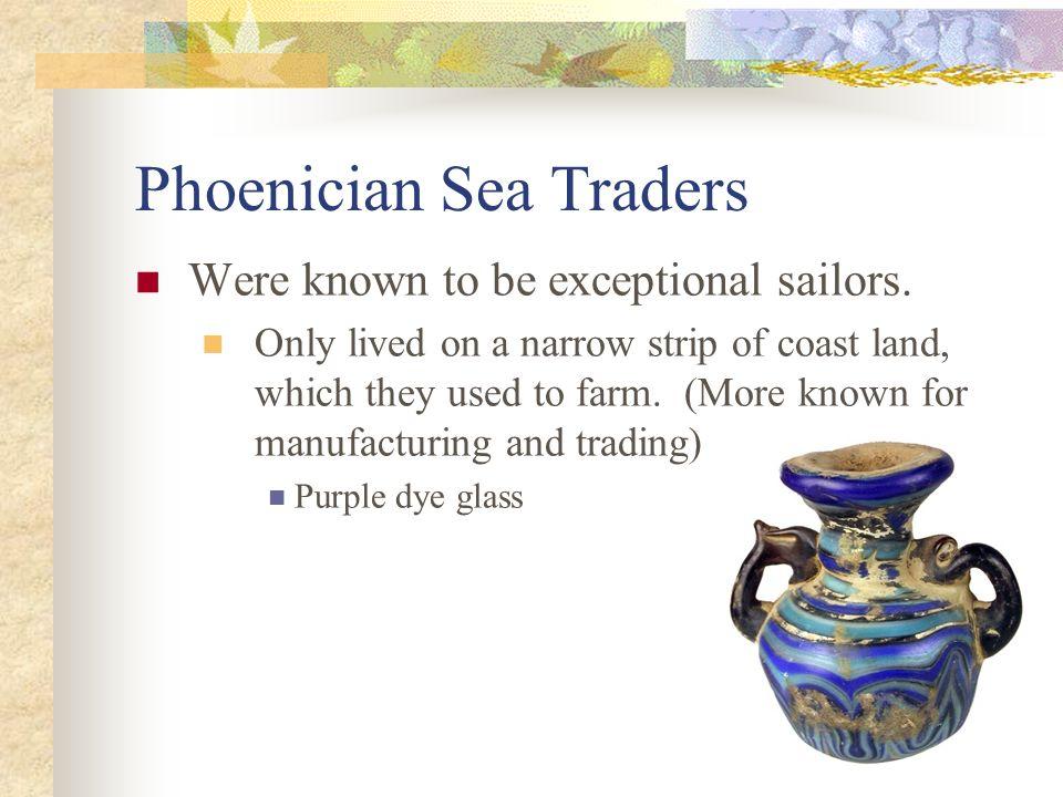 Phoenician Sea Traders