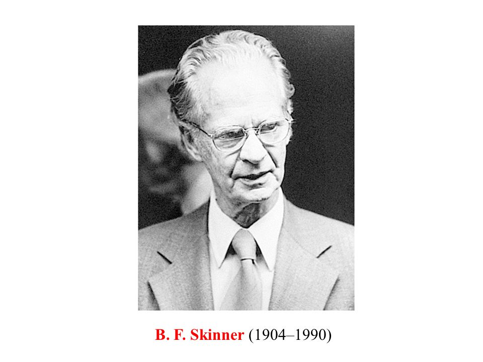 p. 8 Discovering psy B. F. Skinner (1904–1990)