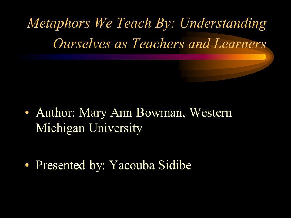 Author Mary Ann Bowman Western Michigan University Ppt Video