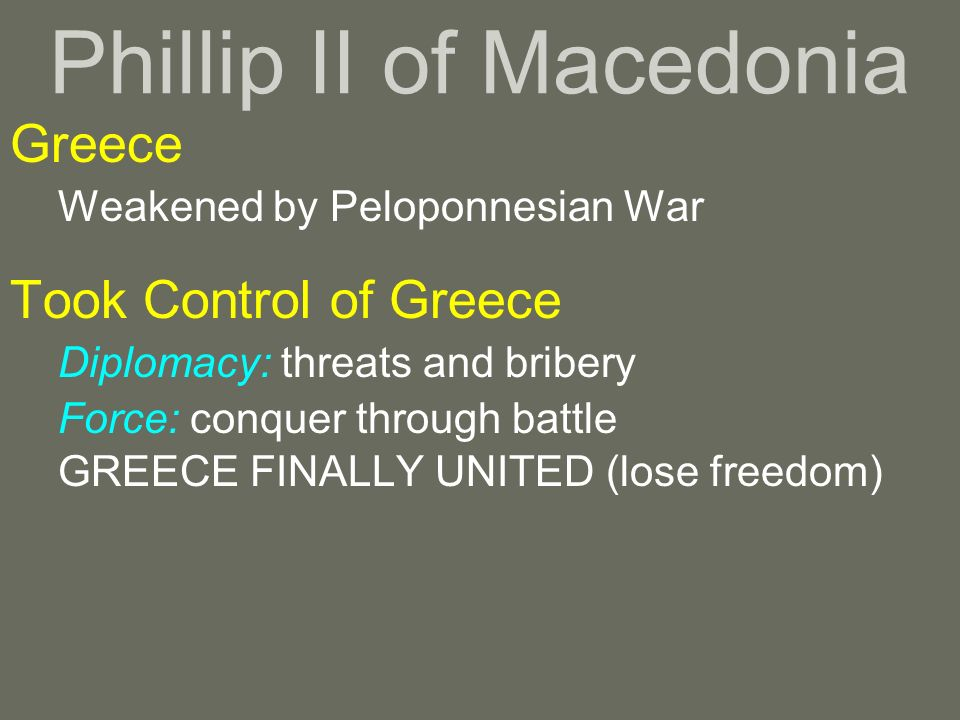 Phillip II of Macedonia