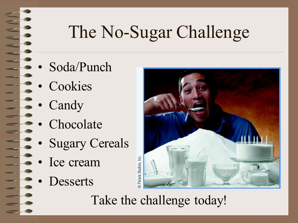 The No-Sugar Challenge