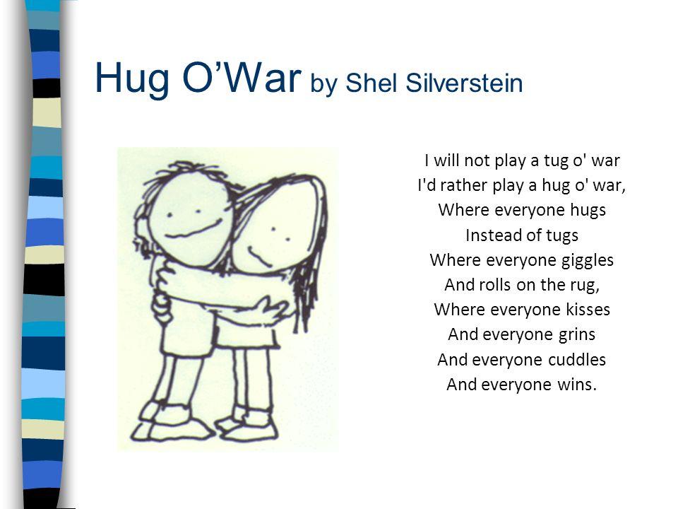 Hug O'War by Shel Silverstein
