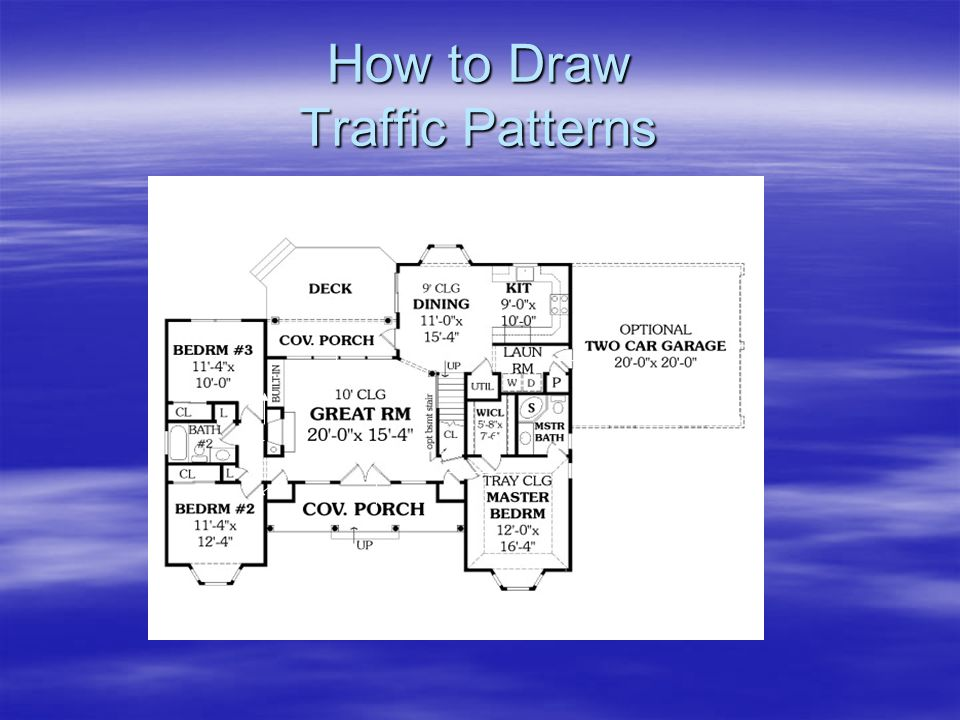 How to Draw Traffic Patterns