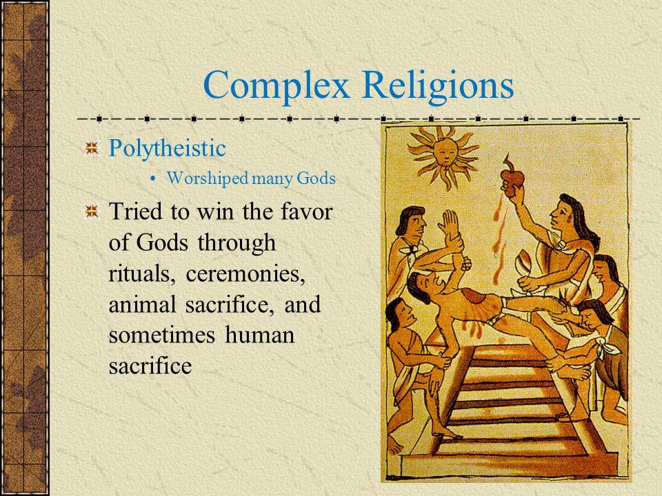 Complex Religions Polytheistic