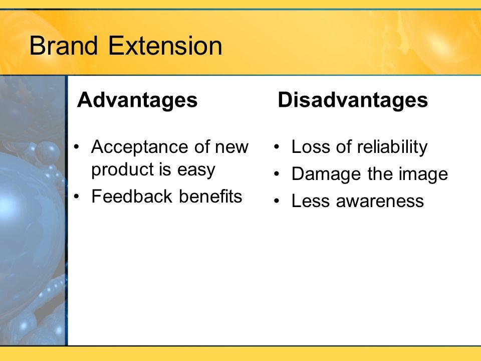 Brand Extension Advantages Disadvantages
