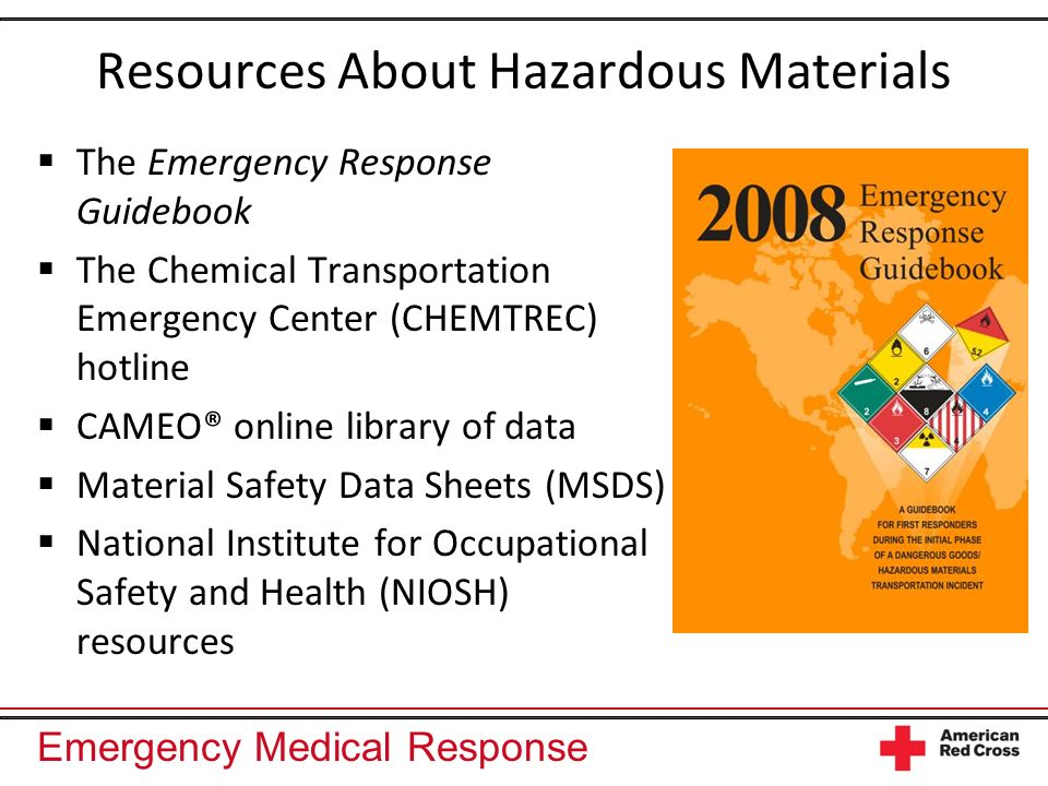 Resources About Hazardous Materials