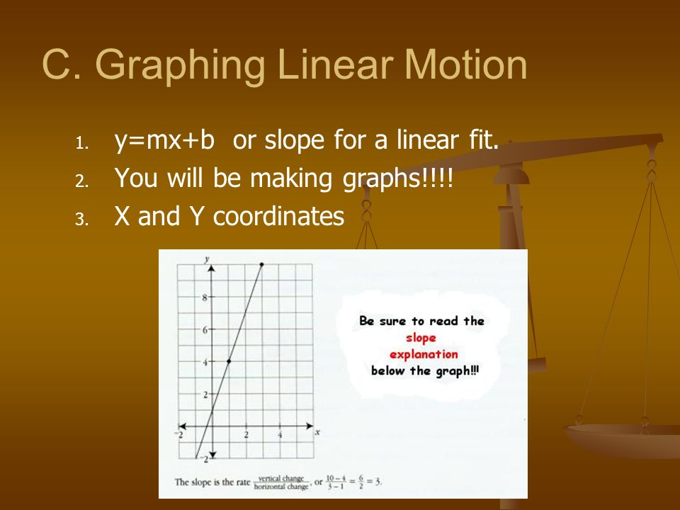 C. Graphing Linear Motion